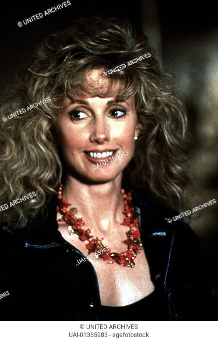 MORGAN FAIRCHILD, 1988 Laura Cassidy (Morgan Fairchild) *** Local Caption *** 1988, Street Of Dreams, Die Toedliche Strasse Der Traeume
