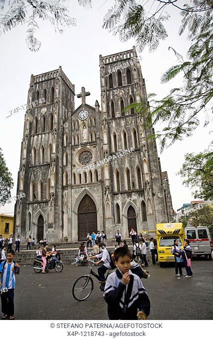 Cathedral Saint Joseph in Hanoi, Vietnam