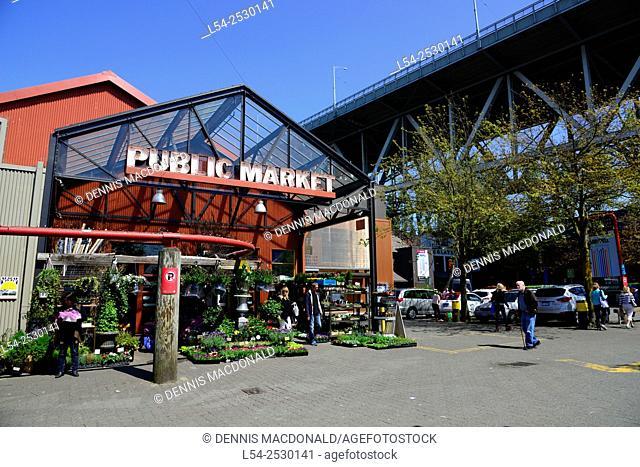Granville Island Vancouver British Columbia Canada
