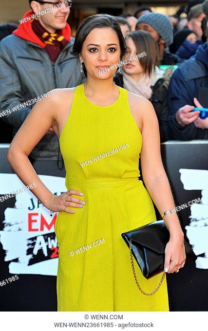 Jameson Empire Awards 2016 at the Grosvenor House in London, England Featuring: Aysha Kala Where: London, United Kingdom When: 20 Mar 2016 Credit: WENN