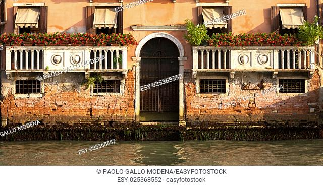 Canal Grande is the most important canal of Venice with wonderful viewpoints