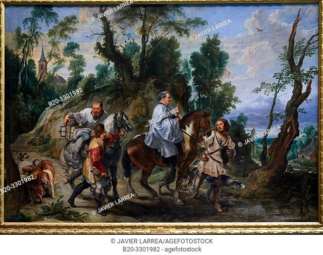 """""""Act of Devotion by Rudolf I of Habsburg"""", 1625, Peter Paul Rubens, Prado Museum, Madrid, Spain, Europe"""