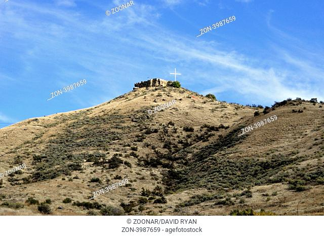 USA, Idaho, Boise, Table Rock Butte