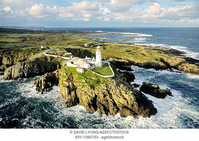 Fanad Head lighthouse County Donegal, Ireland  On the Atlantic coast at the northern tip of Lough Swilly