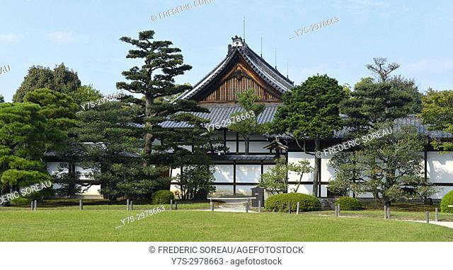 Nijo castle, Kyoto, Japan, Asia