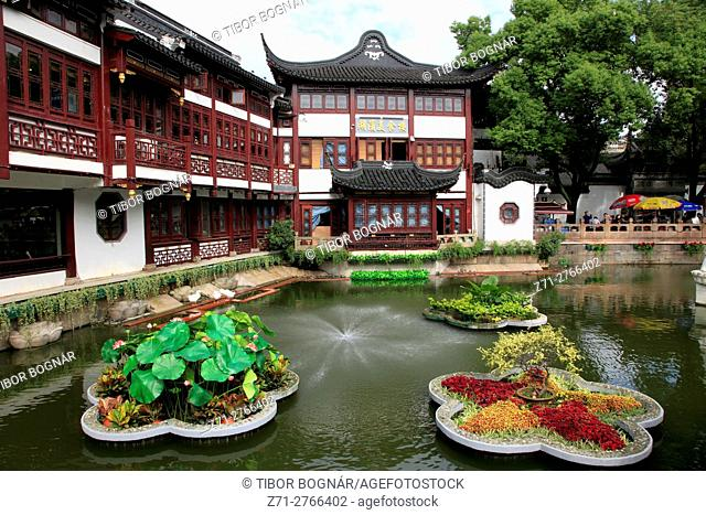 China, Shanghai, Yuyuan Bazaar,