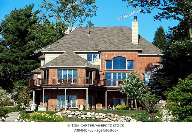 lakefront house  in Belleville, Michigan