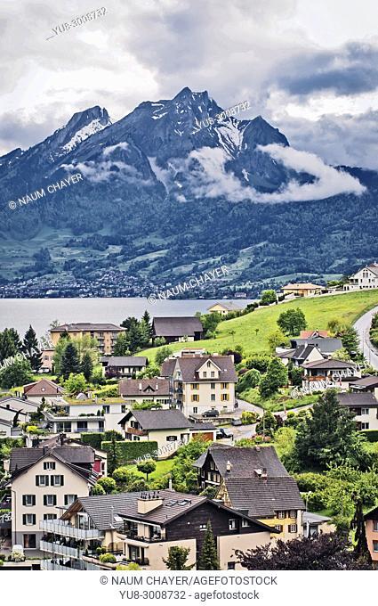 Weggis ,Switzerland. Switzerland, federal republic, Western Europe