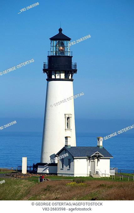 Yaquina Head Lighthouse, Yaquina Head Outstanding Natural Area, Salem District Bureau of Land Management, Oregon