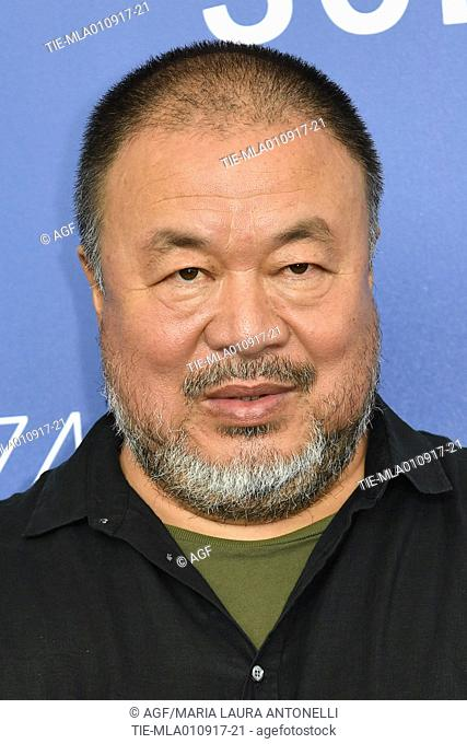 Ai Weiwei during 'Human flow' film photocall, 74th Venice Film Festival, Venice, 01/09/2017