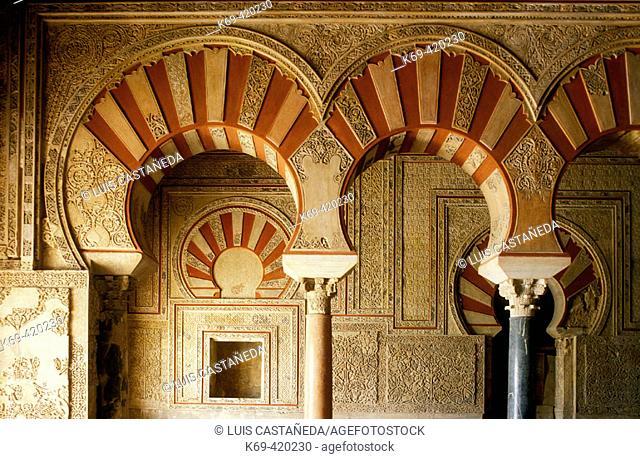 Abderraman Palace. Medina Azahara (Córdoba) Spain