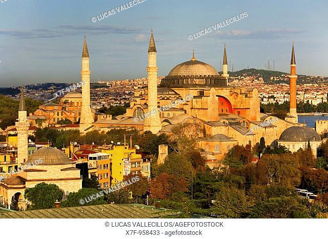 Hagia Sophial, Istanbul  Turkey