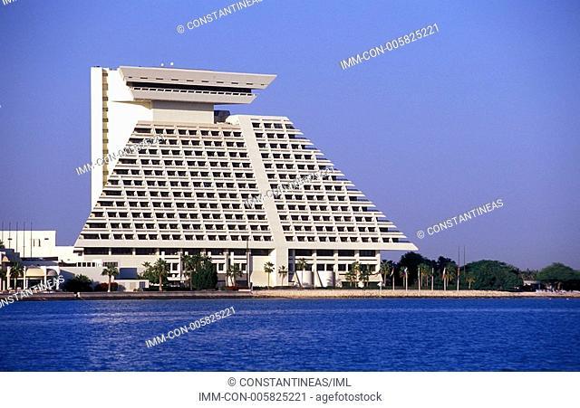 Sheraton Hotel & Resort, exterior view, Doha, Qatar, Middle East