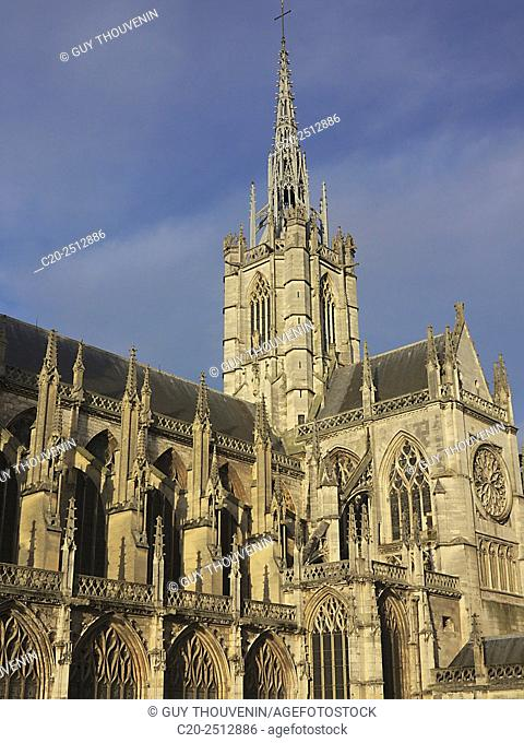 Notre Dame cathedral, 12th 14th c. , Evreux, 27, Eure, Normandy, France