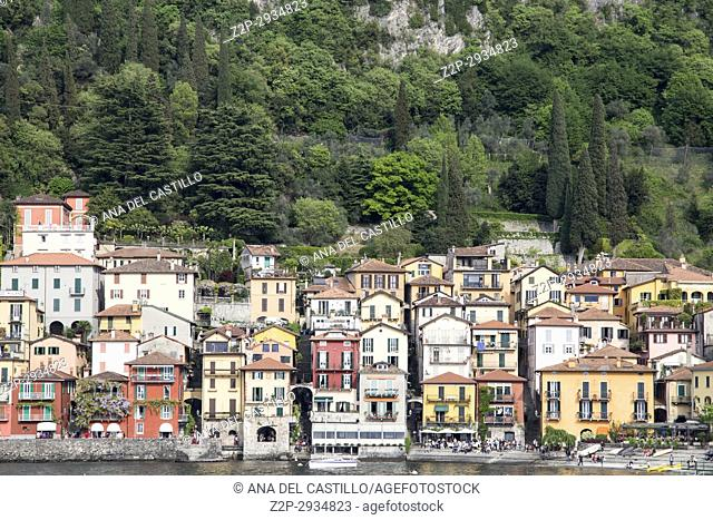 Varenna in Como lake Lombardy Italy