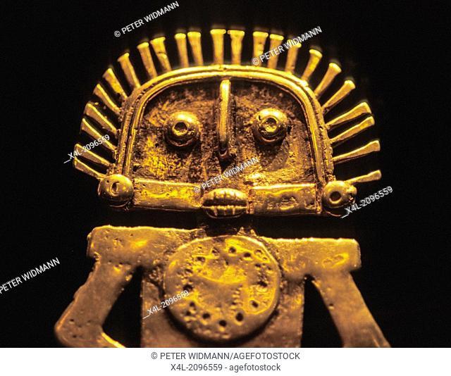 Museum of gold, museo del oro, statue, Colombia, Bogota