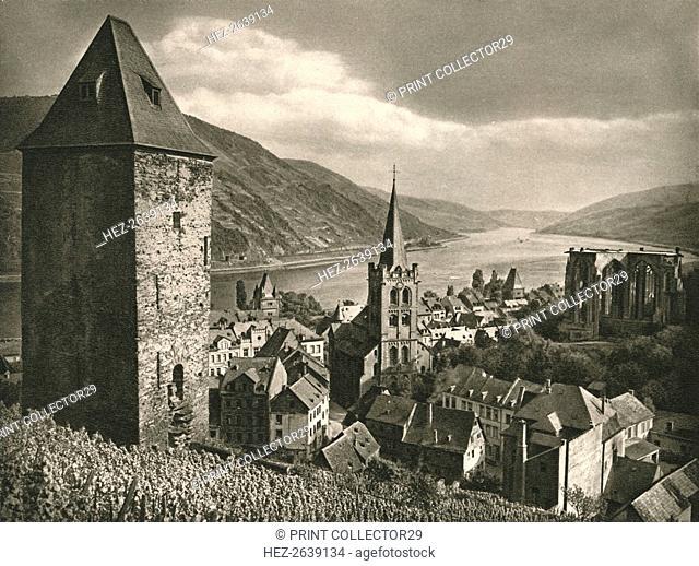 'Bacharach (Rhein)', 1931. Artist: Kurt Hielscher