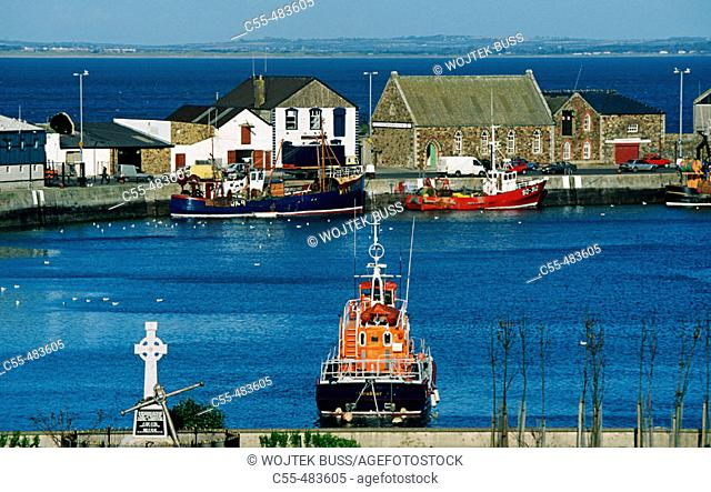 Fishing port. Howt. Ireland