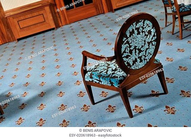 luxury wooden chair