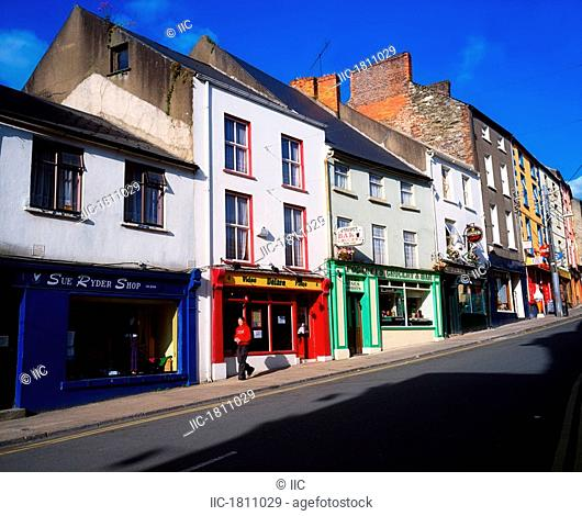 New Ross, Co Wexford, Ireland, Town street