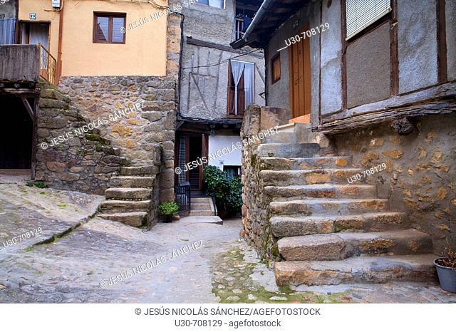 Miranda del Castañar, Las Batuecas-Sierra de Francia Natural Park , Salamanca , Castilla-leon , Spain