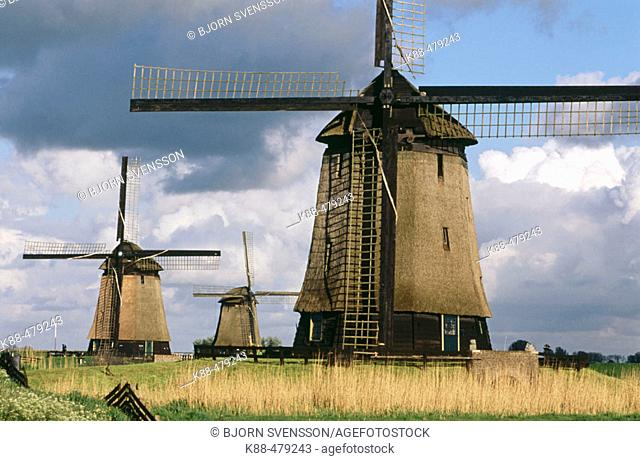 Windmills. Holland