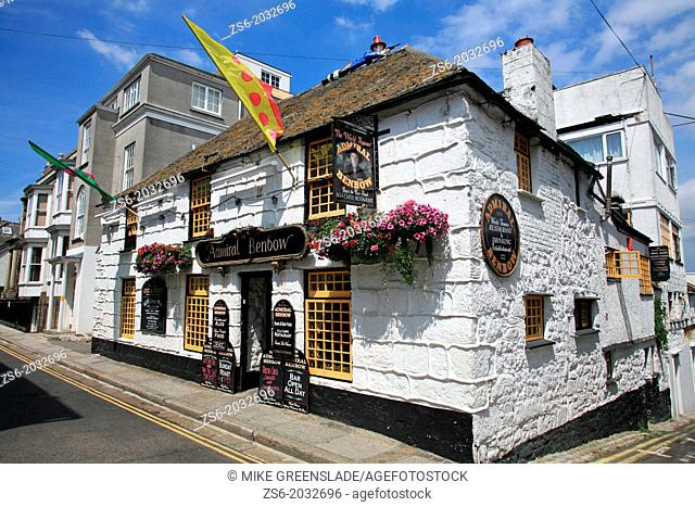 The Admiral Benbow , Penzance , Cornwall , UK
