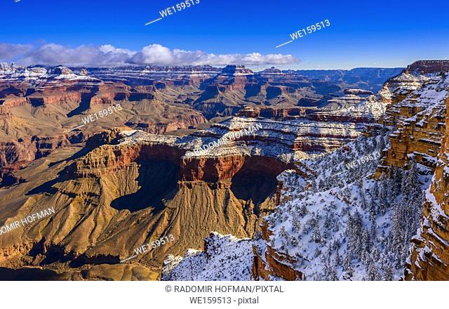 Grand Canyon National Park, South Rim at Winter, Arizona