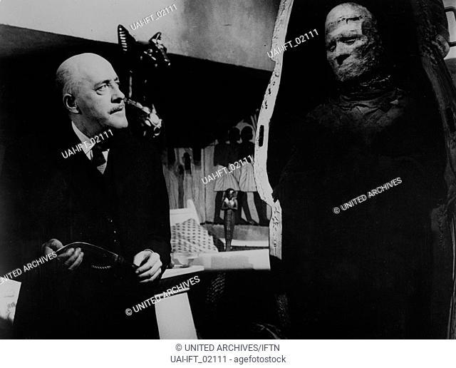 The Curse of the Mummy's Tomb, Großbritannien 1964, aka: Die Rache des Pharao, Regie: Michael Carreras, Darsteller: Fred Clard, Dickie Owen