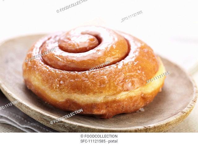 Glazed Cinnamon Roll Doughnut