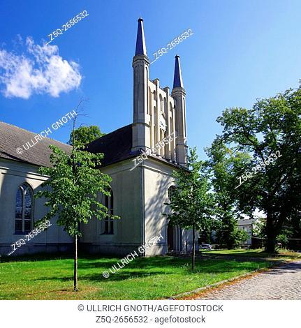 So called Schinkel Church in Joachimsthal near Berlin, Germany