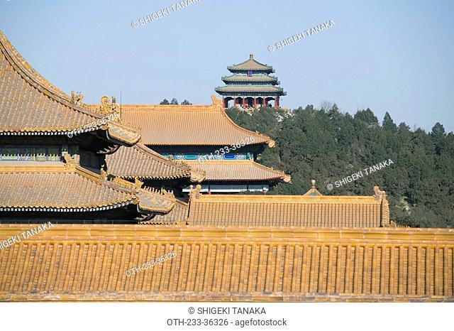 Forbidden City architecture, Beijing, China