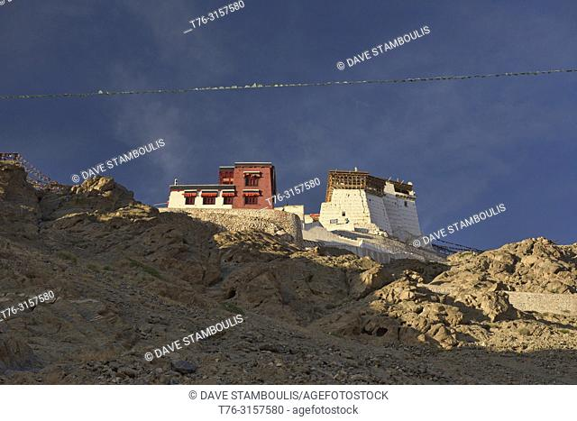 Namgyal Tsemo Monastery in beautiful light, Leh, Ladakh, India