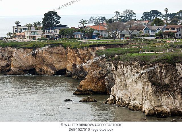 USA, California, Southern California, Shell Beach, cliffs