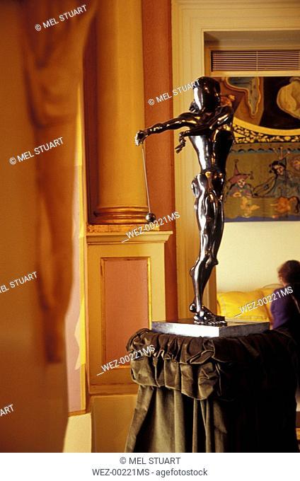 Teatre-Museu Dali in Figueres, Costa Brava, Spain