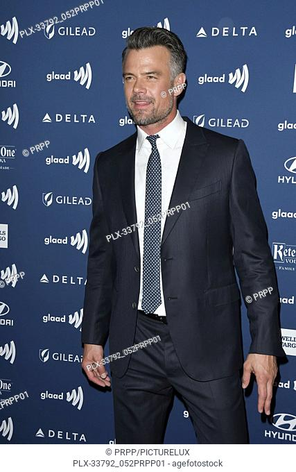 Josh Duhamel at the 30th Annual GLAAD Media Awards held at the Beverly Hilton Hotel in Beverly Hills, CA on Thursday, March 28, 2019