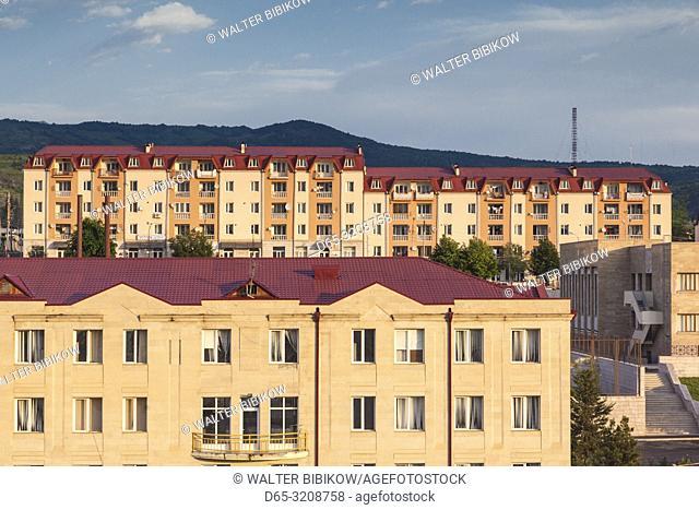 Nagorno Karabakh Republic, Stepanakert, newly built apartment blocks