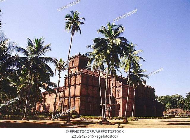 The Basilica of Bom Jesus. Dated: 1585 A. D. Old Goa, India