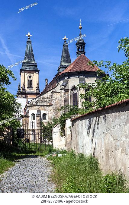 Church of the Nativity of the Virgin Mary, Augustinian Monastery, Roudnice nad Labem, Northern Bohemia, Czech Republic, Europe
