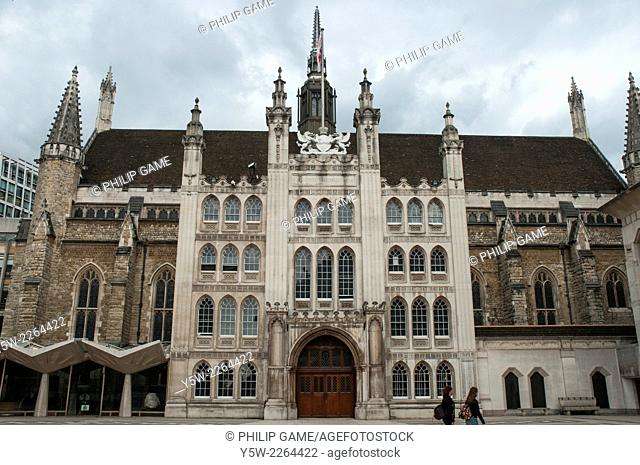 Guildhall, City of London, London's town hall since the 12th century