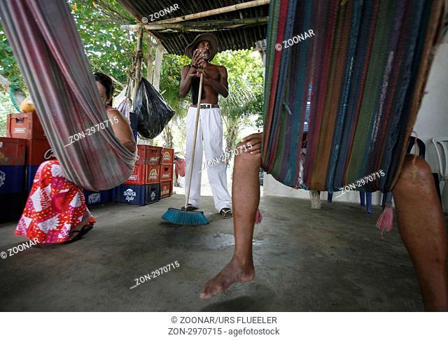 Suedamerika, Karibik, Venezuela, Nord, Chuao, National Park Hanri Pittier, Dorf, Cacao Dorf, Kakao Dorf, Regenwald