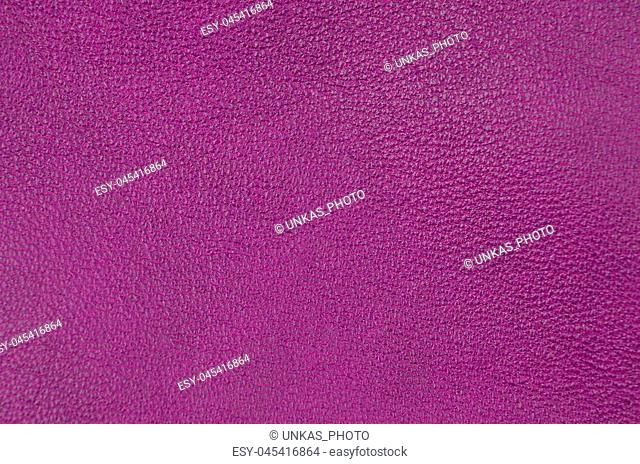 Close up of natural purple leather background