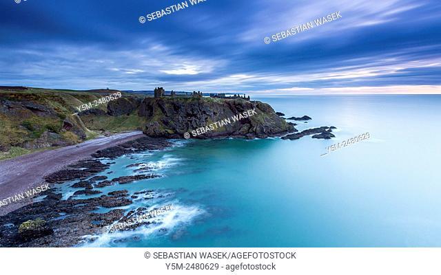Dunnottar Castle, Aberdeenshire, Scotland, United Kingdom, Europe