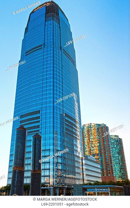 30 Hudson Street building aka Goldman Sachs Tower, Jersey City Financial Center, New Jersey, USA