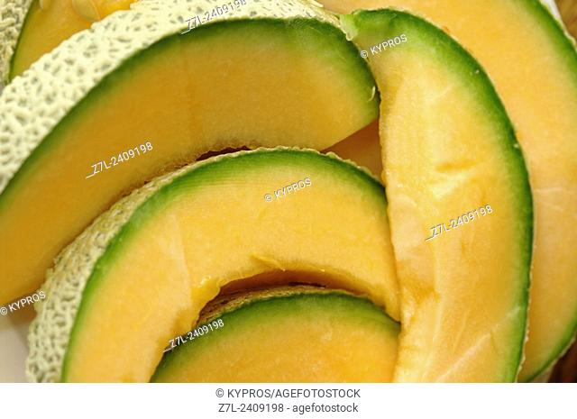 Slices Of Honeydew Melon. Bavaria, Germany