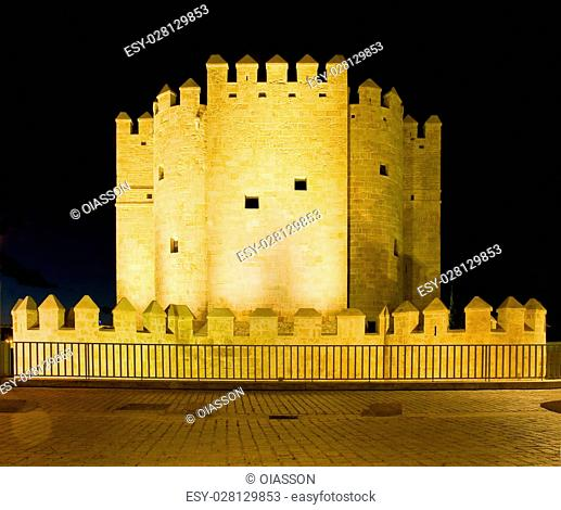 Torre de la Calahorra of Cordoba. Andalusia, Spain