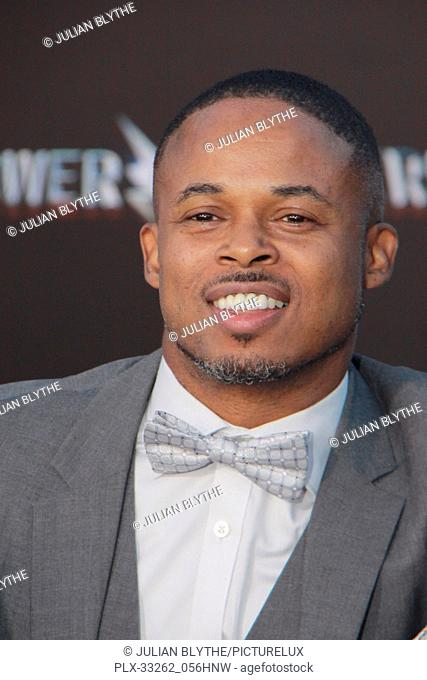"""Walter Jones 03/22/2017 """"""""Power Rangers"""""""" Premiere held at the Westwood Village Theater in Westwood, CA Photo by Julian Blythe / HNW / PictureLux"""