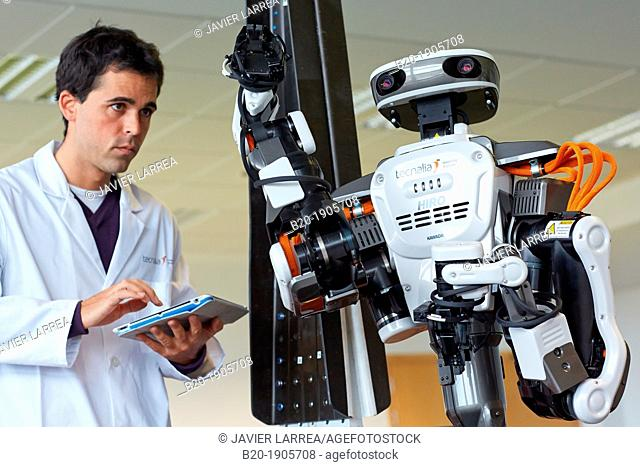 HIRO robot  Humanoid robot for automotive assembly tasks in collaboration with people  Industry, Tecnalia Research & innovation, Technology and Research Centre