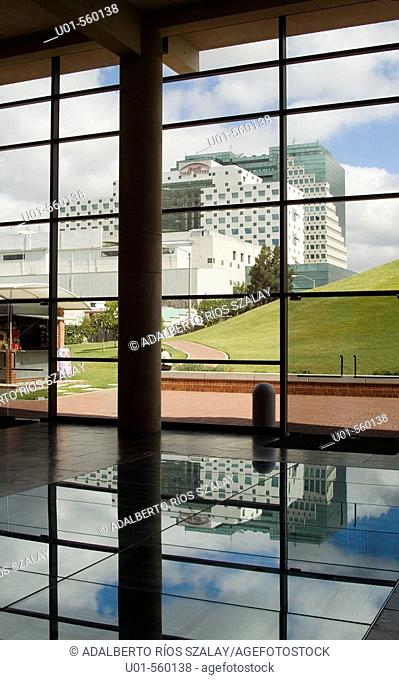 View of Modern Buildings from Miraflores Museum, Guatemala City