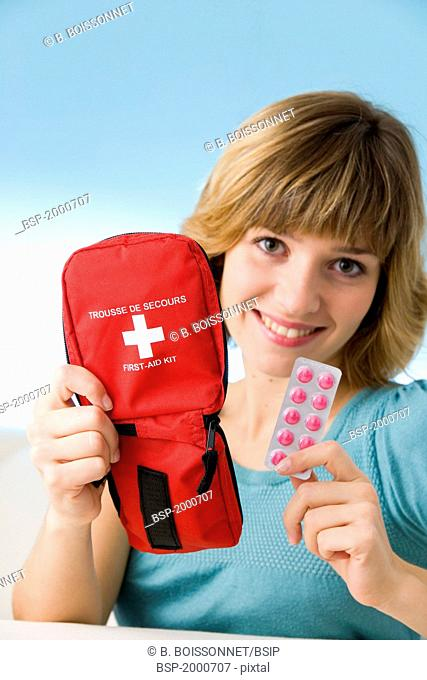 FIRST AID KIT Model
